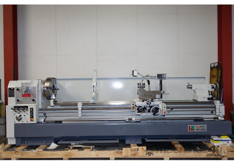 � 660mm Swing Centre Lathe, 104mm Spindle Bore, 3m BC