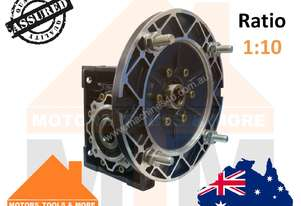 Worm Gearbox Type 63 1:10 Reduction B5 80 Flange