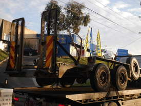 7ton ATM galvernised plant trailer  - picture0' - Click to enlarge