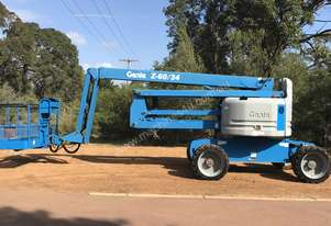 GENIE Z60/34 ARTICULATING Z BOOM 5/2012 BUILD 700