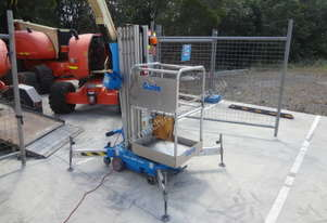08/2012 Genie AWP 25S AC and Tilting Trailer
