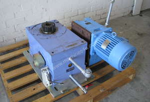 Roller Gear Indexer Index Drive Motor