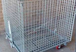 ABLE. FOLDING MESH CONTAINER. For Logistics / Stock Picking and Storage