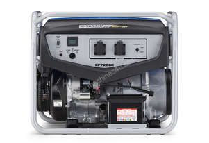 Yamaha EF7200E Portable Petrol Generator- Serious Power!