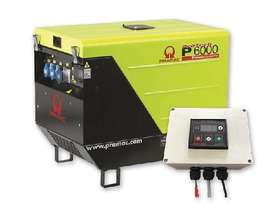 Pramac 6kVA (NON AVR) Silenced Auto Start Diesel Generator + 2 Wire Controller - picture15' - Click to enlarge