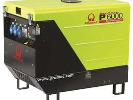 Pramac 6kVA (NON AVR) Silenced Auto Start Diesel Generator + 2 Wire Controller - picture17' - Click to enlarge