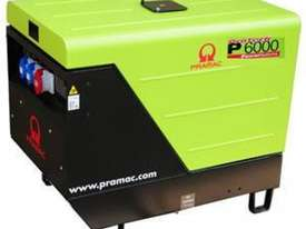 Pramac 6kVA (NON AVR) Silenced Auto Start Diesel Generator + 2 Wire Controller - picture18' - Click to enlarge