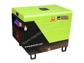 Pramac 6kVA (NON AVR) Silenced Auto Start Diesel Generator + 2 Wire Controller - picture4' - Click to enlarge