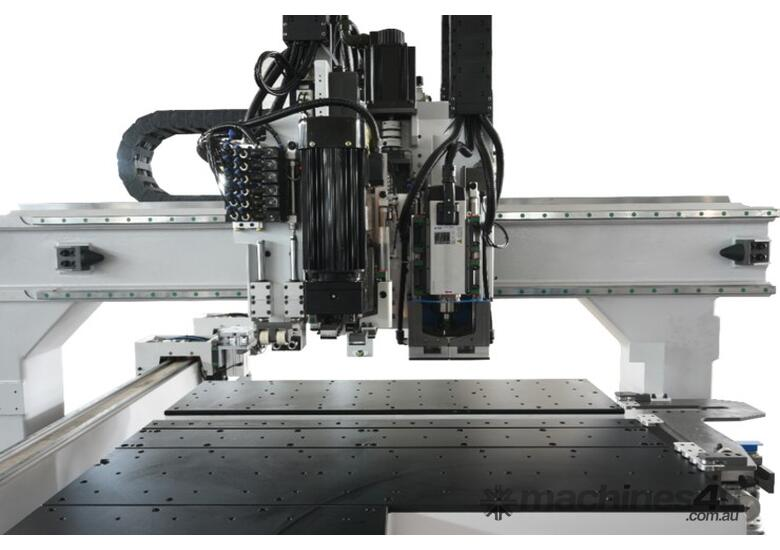 5 sided Through-feed boring - with routing