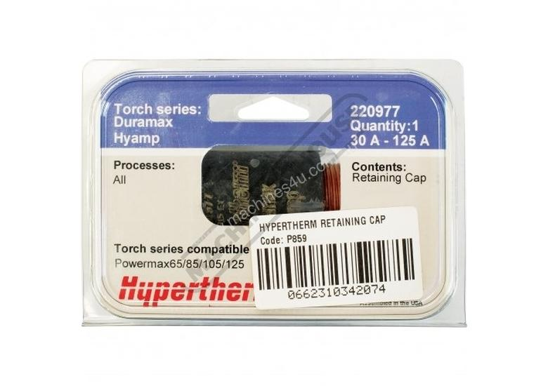220977 Hypertherm 30-125A Retaining Cap  (Pack of 1)