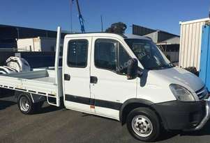 2007 Iveco Daily 50c18 Dual cab Tray