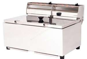 Woodson W.FRT50 Double Pan Fryer - 5.5 Litres