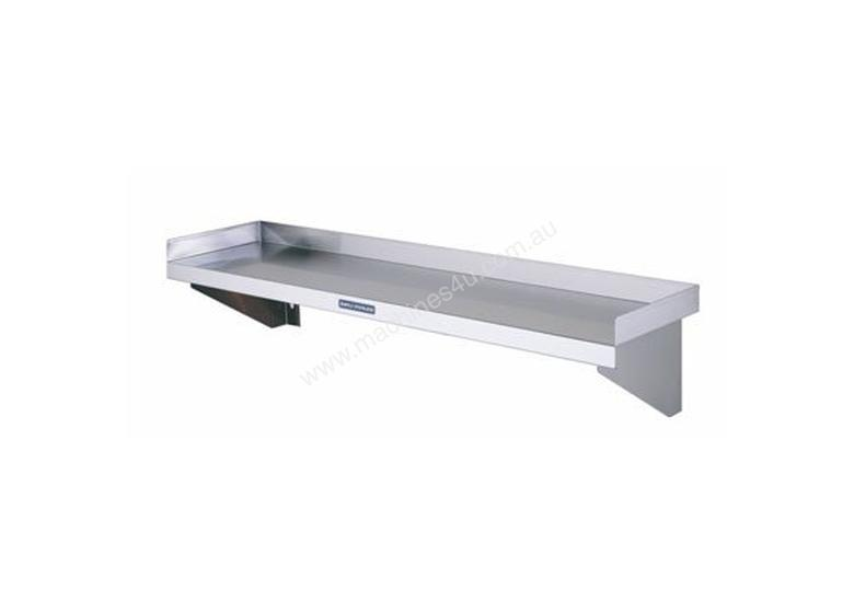 Simply Stainless SS10.2400 Solid Wall Shelf - 2400mm