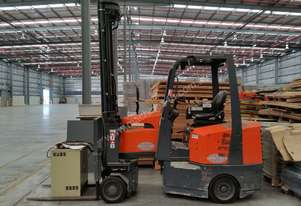 Save space and money with this forklift, plus we sell good used Pallet racking