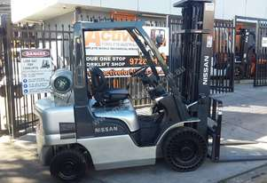 Nissan Forklift PL02A25DU 2.5 Ton 5500MM Lift 2004 Model Side Shift $14999+gst