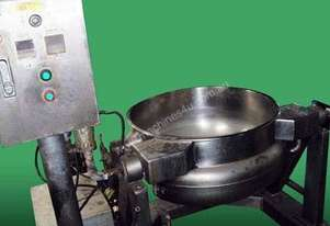 Steam Jacketed cooker / kettle (hydraulic tilt)