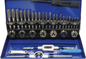 T012 Metric Alloy Steel Tap & Die Set - 32 Piece  M3, M4, M5, M6, M8, M10, M12 Taps & Dies