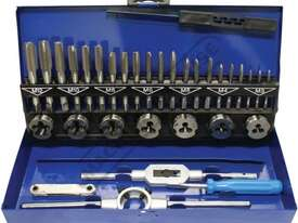 T012 Metric Alloy Steel Tap & Die Set - 32 Piece - picture0' - Click to enlarge