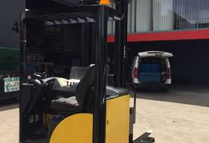 Yale MR 14 Ride Reach Truck Forklift - Fully Refurbished & Excellent Batteries
