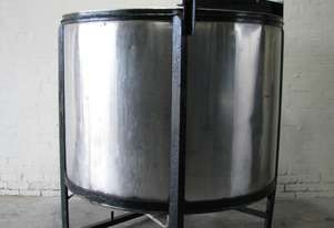 Stainless Steel Mixer Mixing Tank - 2300L