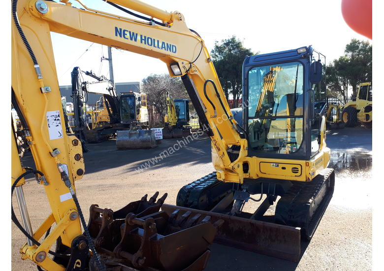 2014 NEW HOLLAND EX55BX EXCAVATOR