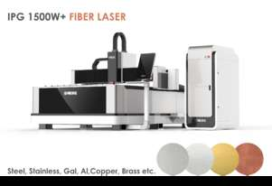 IPG 1500W (up to 3kW) 1.5x3m Industrial Metal Fiber laser - Delivery/installation included!