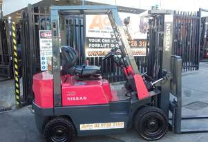 *EOFY SALE* Nissan Diesel Forklift 1.5 Ton Container Mast $11000+gst negotiable*