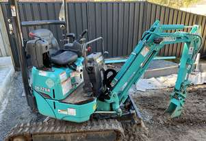 New Model 2018 Kobelco SK12SR 1.2 Ton Mini Excavator