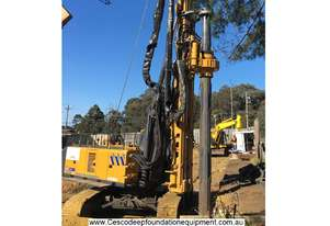 Bore Pile / CFA Drilling Rig XR130 Cesco Deep Foundation Equipment