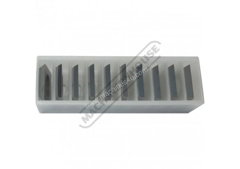 W765 Carbide Inserts for Spiral Cutter Heads 14 x 14 x 2mm (10 Inserts Per Pack) Suits SHC6-28 & SHC