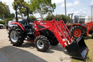 Brand   50 HP TYM tractor with 4 in 1 loader