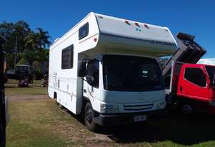 Mazda Motorhome set up