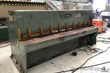 Acra Hydraulic Guillotine. 3mm x 2400mm capacity. Good condition. Quick sale.