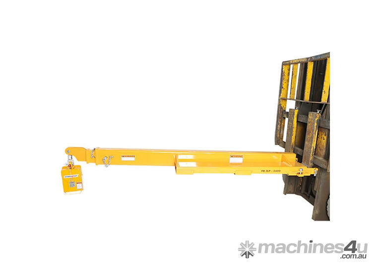 Container Unloader Forklift Jib Low Profile 5420mm