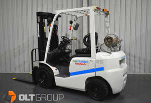 Unicarrier 2.5 Tonne Forklift 933 Hours 2018 Model Container Mast 4.8m Lift