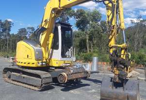 2008 Sumitomo SX75X-3 Hi Rail Excavator with Engcon Hitch
