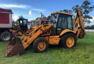1997 P12 JCB 3CX 4X4 Centre Mount Extendahoe Backhoe