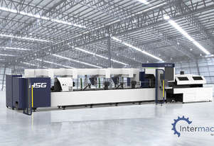 HSG TS65 2kW Fiber Laser Cutting Machine (IPG source, Alpha Wittenstein gear)