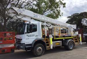 ACM300 - 30m working height 300kg capacity EWP mounted on Mercedes-Benz Atego 1629 4x4