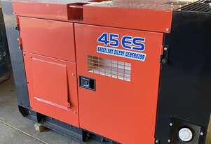 40 KVA Isuzu Denyo Silenced Industrial Diesel Generator , Very Good condition , Refurbished