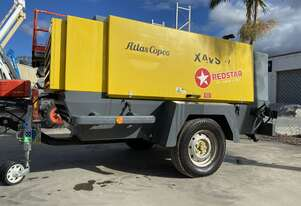 2016 Atlas Copco 400CFM Air Compressor  (High pressure 200PSI) Trailer Mounted