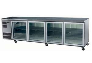 Skope CL800 4 Glass or Solid Swing Door Fridge