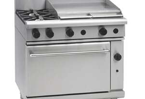 Waldorf 800 Series RNL8616G - 900mm Gas Range Static Oven Low Back Version