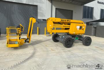 Haulotte HA16RTJ - 45ft Knuckle Boom - STOCK IS RUNNING OUT FAST!