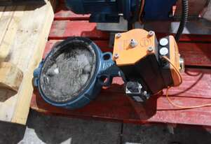 Butterfly Valve Air Actuated