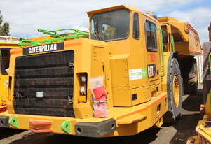 Caterpillar 2011 AD55B Articulated Underground Ejector Tray Truck