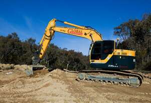23T Zero Swing Excavator Hyundai R235LCR-9 for hire
