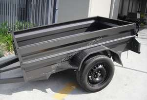 BRAND NEW 7x4 HEAVY DUTY HIGH SIDE BOX TRAILER
