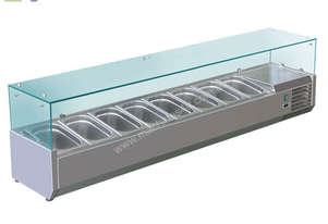 BAIN MARIE, 8 X 1/3 GN TRAYS NOT INCLUDED VRX-1800