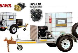 10HP Kohler DieselTrailer Press.Cleaner -MINE SPEC